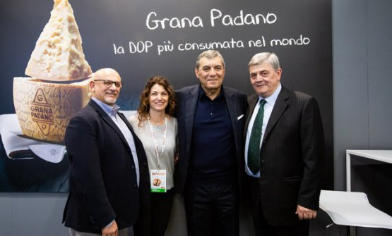Claudio Sadler, Elisabetta Serraiotto, Claudio Ceroni e Stefano Berni