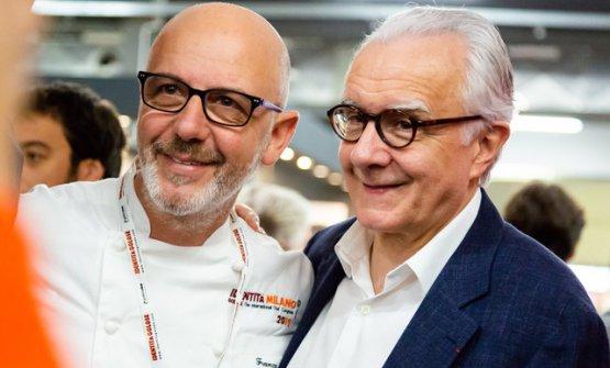 Franco Pepe e Alain Ducasse