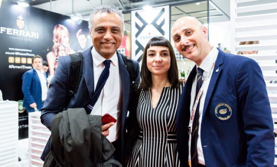 Hosam Eldin Abou Eleyoun, Amalia Della Gatta e Dino Gareridi Ais Lombardia