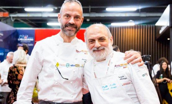 Massimo Alverà e Corrado Assenza