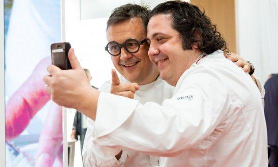 Emanuele Scarello e Gianluca Fusto
