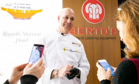 Franco Tornese, chef di Berto's