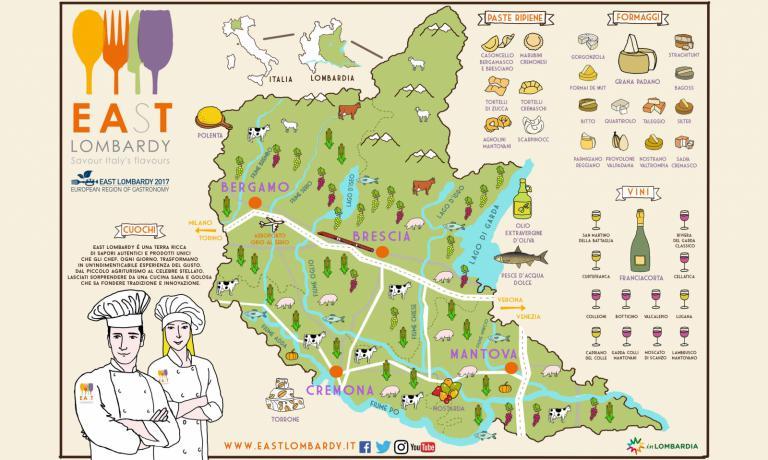In questo 2017 la Lombardia Orientale sarà East Lombardy, ossia Regione Europea della gastronomia. Paolo Marchi presiede il Comitato Food dell'iniziativa e ne spiega il significato