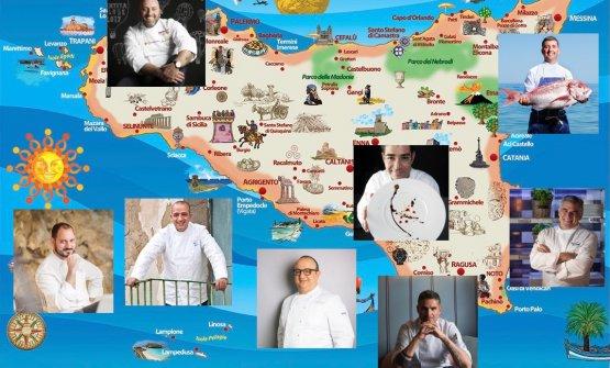 La ristorazione che resiste: nella Sicilia diventata gialla tra umori neri e qualche prospettiva che si tinge di rosa