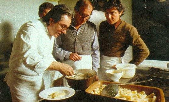 Scuola di cucina con Gualtiero Marchesi ad Altopalato