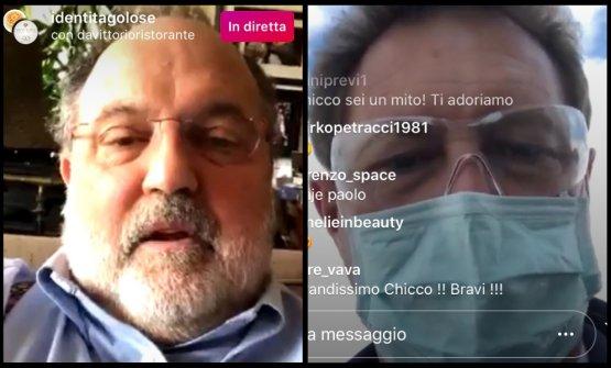 Paolo Marchi ed Enrico Cerea in collegamento su In