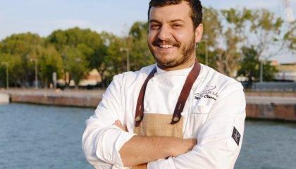Marco Claroni, chef dell'Osteria dell'Orologio