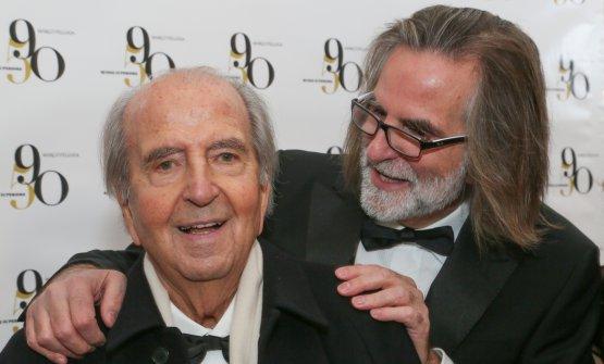 Marco Felluga col figlio Roberto