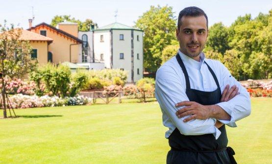Marco Moretto, il nuovo chef de La Locanda del Notaio