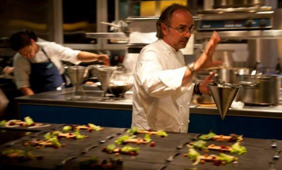 Primo promotore del Movimento Gente di Lago, Marco Sacco, 2 stelle Michelin col Piccolo Lago