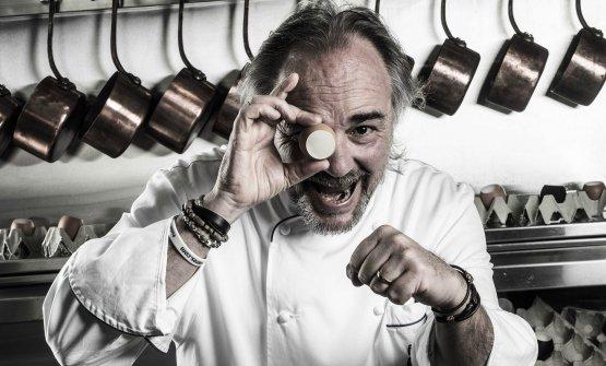 Marco Sacco, classe 1965, è lo chef del Piccolo L