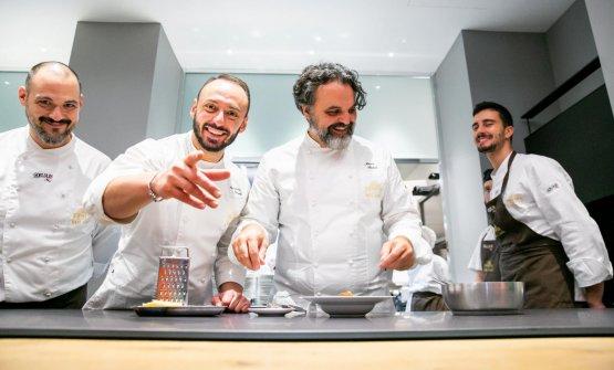 Lavoro e sorrisi con il resident chef di via Romagnosi, Alessandro Rinaldi