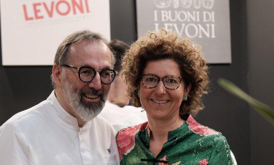 Marella Levoni con Norbert Niederkoflera Identità Milano 2019