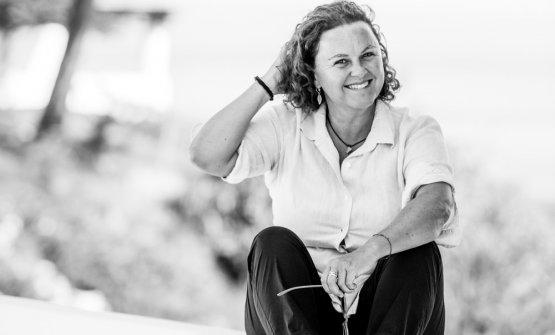Margherita Vitale dal 2015 dirige Capofaro Locanda & Malvasia (foto di Anne-Emmanuelle Thion)