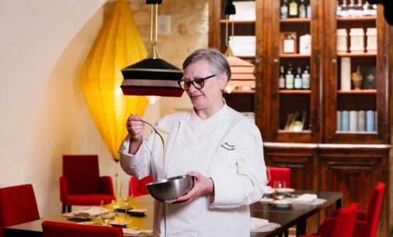 Maria Cicorella, ristorante Pashà di Conversano (Bari)