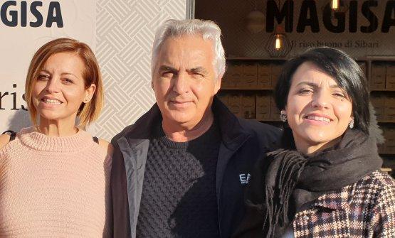 Maria, Giancarlo e Sara Praino