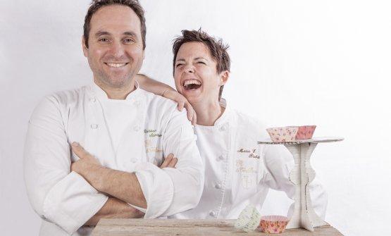 Gli chef Cristian Santandrea e Maria Probst, coppia in cucina e nella vita