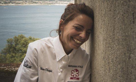 Marianna Vitale, chef e patron del ristorante Sud