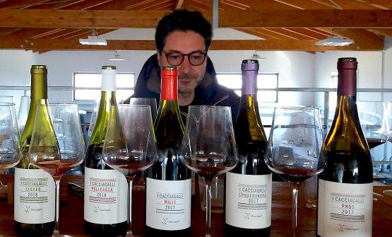 Mario Basco e le sue etichette.Insieme aDiana
