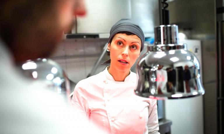 Marta Scalabrini, chef e patron di Marta in cucina