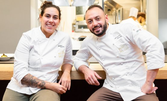 Con lo chef di Identità Golose Milano, Alessandro Rinaldi