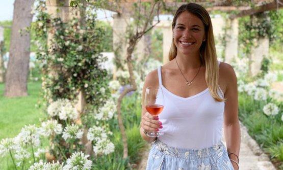 Marta Varvaglione, sempre sorridente