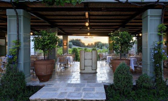 Il Carosello della Masseria Torre Maizza a Savelletri di Fasano, in Puglia. È uno dei ristoranti gestiti da Pierangelini negli hotel del gruppo Rocco Forte