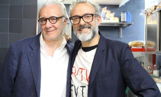 Alain Ducasse e Massimo Bottura