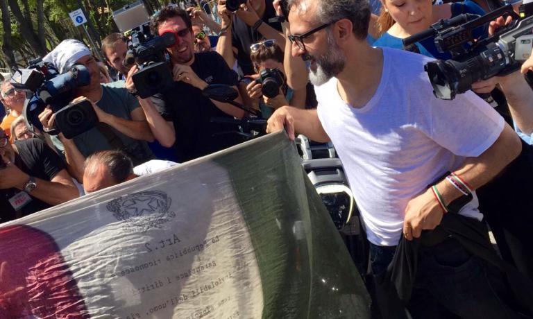 Massimo Bottura è ideatore ed è stato protagonista diAl Méni, ossia l'eccellenza dell'Emilia Romagna che dialoga col mondo