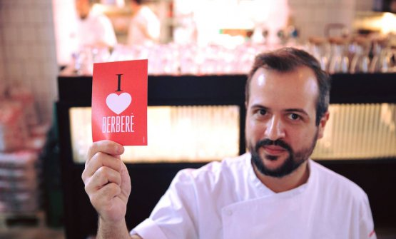 Matteo Aloe, born in Calabria in 1986, opened the first Berberè in Castel Maggiore (Bologna) on the 8th December 2010 at 24
