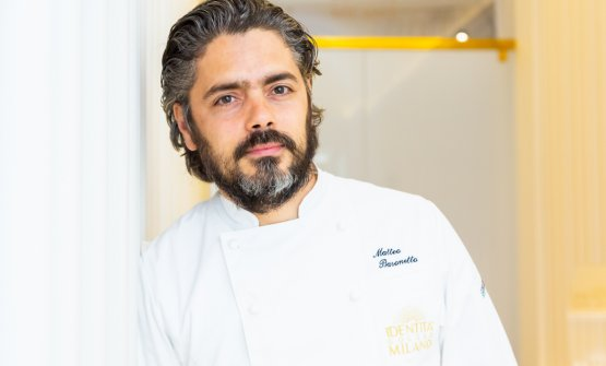 Matteo Baronetto, 42, chef at Del Cambio in Tori