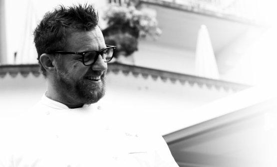 Matteo Felter, classe 1973, è l'executive chef del Grand Hotel Fasano a Gardone Riviera (Brescia)