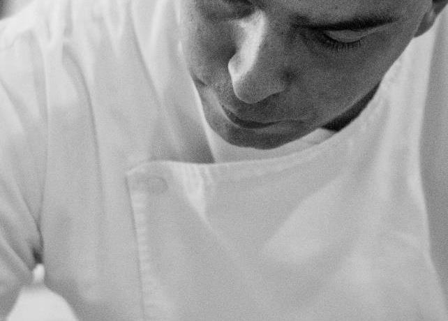 First role as executive chef for Matteo Monti, who