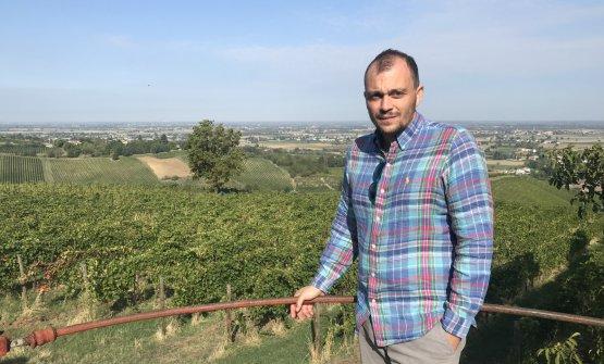 Il direttore ed enologo di Tenuta Mazzolino, Stefano Malchiodi