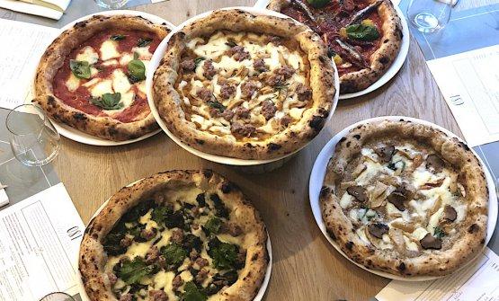 Degustazione di pizze