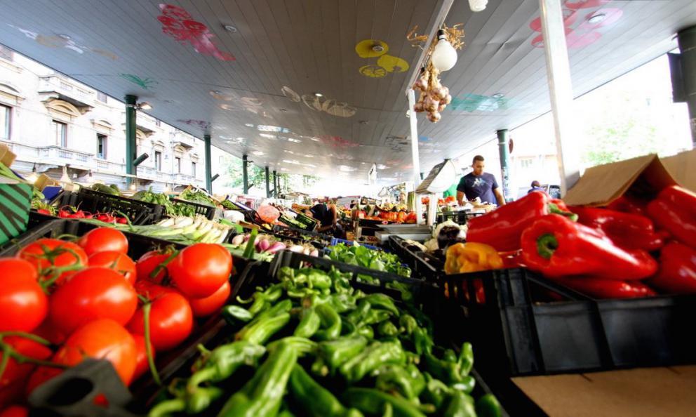 Il mercato Madama Cristina (foto mercati.comune.torino.it)