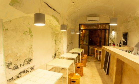 L'interno del Bar Lemì
