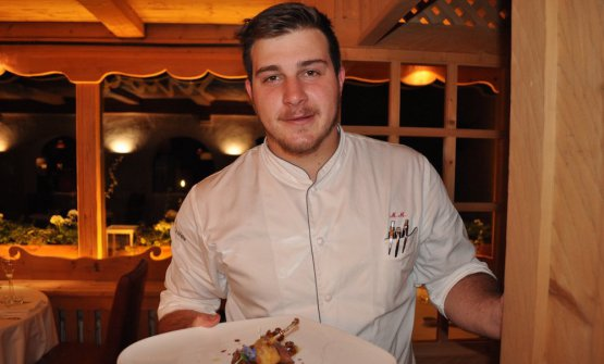 Matteo Metullio, Ciasa Salares in Alto Adige, due stelle a 28 anni