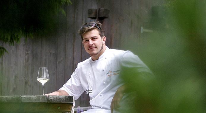 Matteo Metullio, chef al ristorante La Siriola del