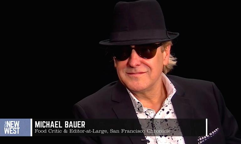 Michael Bauer, restaurant critic and executive food and wine editor del San Francisco Chronicle in una immagine tratta dal sito San Francisco Eater