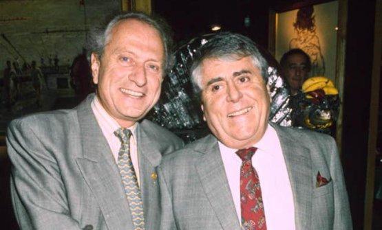 Michel e Albert Roux. Nel 1986 si divisero gli affari: il primo scelse Bray, il secondo Londra