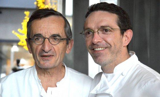 Michel e Sébastien Bras, padre e figlio legati dalla stessa professione: chef. Sébastien ha rinunciato alle tre stelle Michelin che il padre aveva ottenuto per la prima volta nel 1999. Troppa presione, la motivazione