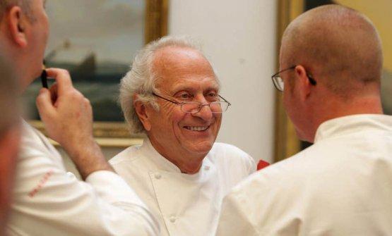 Michel Roux (19 aprile 1941-12 marzo 2020). Col f