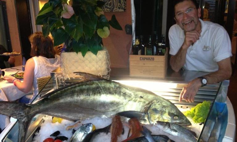 Fish is obviously Miky's strongpoint. The first recommendation by Marianna Corte in Monterosso