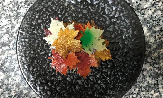 Solo 15 foglie di una millefoglie, il piatto dell'autunno di Dario Guidi. Tutte le foto sono di Marco Varoli