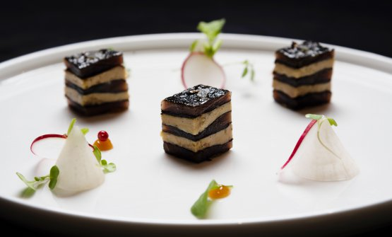 Millefoglie di foie gras: la ricetta primaverile d