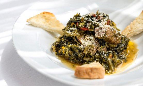 La minestra maritata deLo Stuzzichino di Sant'Agata sui Due Golfi, penisola sorrentina