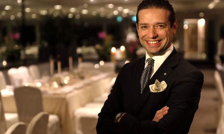Luca Costanzi, Food & Beverage Manager del ristora