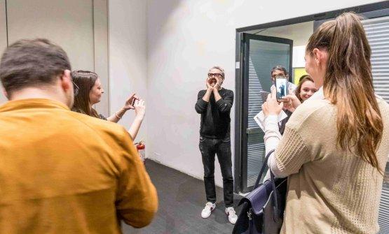 Massimo Bottura ha chiamato a raccolta il pubblico di Identità Golose per la lezione di Karime Lopez