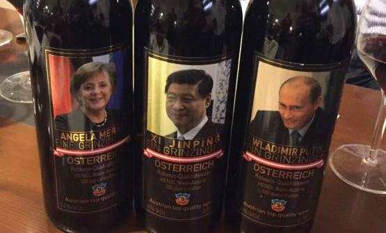 Labels specially designed for the Chinese market